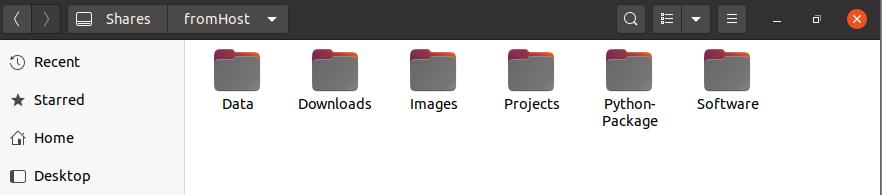 Linux访问共享文件夹